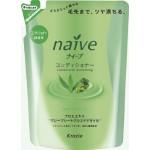 Kracie Naive Бальзам для нормальных волос восстанавливающий-экстракт алоэ и масло виноградных косточек сменная упаковка 400 мл