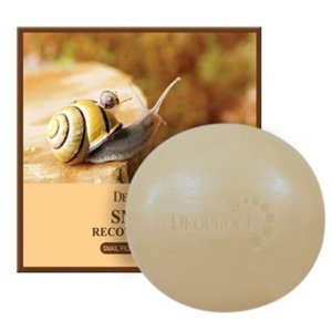 Deoproce Snail Recovery Soap Мыло с улиточным муцином 100 гр