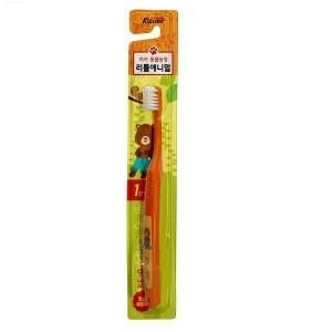 Kizcare Зубная щетка для детей от 0 до 3 лет (для чистки родителями и самостоят чистки, мягкая)