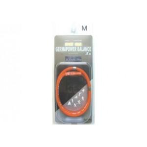 Германиевое ожерелье (с усиленной застежкой для занятий спортом и активного образа жизни размер М - 46см, красный)
