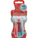 Kai BIKINI LINE Одноразовый бритвенный станок для зоны бикини со смазывающей полоской и двойным лезвием, 2 шт