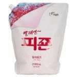 PIGEON Кондиционер для белья с ароматом «Розовый сад», мягкая упаковка 2,1 л