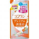 """Lion """"Soflan"""" Кондиционер для белья Premium Deodorizer Zero-O с нежным ароматом мыла, 480 мл"""