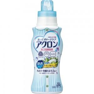 """Жидкое средство Lion """"Acron"""" для стирки деликатных тканей с ароматом нежного мыла, 450мл"""
