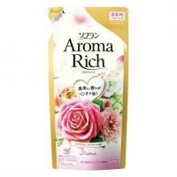 """Lion """"Soflan Aroma Rich Diana"""" Кондиционер для белья с богатым ароматом натуральных масел, 400 мл"""