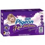 """Pigeon Салфетки-кондиционер для сушки белья в сушильной машине Аромат """"Тайны дождя"""", 40 листов"""