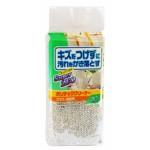 Aisen Super ZEO Губка для мытья посуды из поролона в сетке с аллюминиевым покрытием, антибактериальная