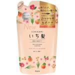 """Kracie """"Ichikami"""" Увлажняющий шампунь для поврежденных волос с абрикосовым маслом и цветочными экстрактами, наполнитель 340 мл"""
