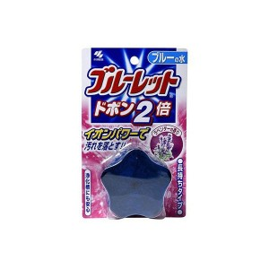 Bluelet Dobon W Таблетка для бачка унитаза с эффектом окрашивания воды, аромат лаванды