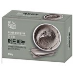 Mukunghwa Массажное мыло с экстрактом масла Ши и целебными грязями, 100 гр