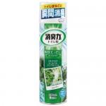 """ST """"Shoushuuriki"""" Спрей-освежитель воздуха для туалета с ароматом яблочной мяты, 330 мл"""