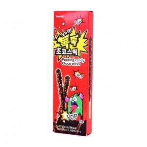 Sunyoung Popping Candy Choco Stick Палочки в шоколаде с взрывающейся карамелью, 54 гр
