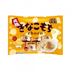 Tirol Шоколад со вкусом кинако-моти, 49 гр
