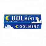 Lotte Cool Mint Жевательная резинка, 9 пластинок
