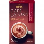 """AGF """"Blendy Cafe Latory"""" Растворимое молочное какао (6 стиков *10.5г)"""