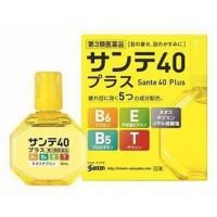 Sante 40 Plus — капли с витамином E, B6 и таурином, и пантенолом.