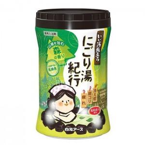 Hakugen Увлажняющая соль для ванны с восстанавливающим эффектом, аромат леса, 600 гр