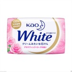 """КAO """"White"""" Увлажняющее крем-мыло для тела на основе кокосового молока с ароматом розы, 130г"""