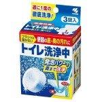Kobayashi Таблетки для чистки сливного отверстия унитаза (3 шт)