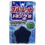 Bluelet Dobon W Таблетка для бачка унитаза с эффектом окрашивания воды, аромат мяты