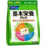 Fancl Basic Nutrition Pack -комплекс витаминов и минералов, 30 дней