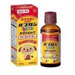 Paburon Kids Taisho Японский сироп от простуды для детей от 3 месяцев до 6 лет, 120 мл
