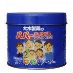 Ohkiseiyaku Papa Jelly Кальций, витамин D и лактобактерии, 120шт