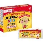 Paburon Kids Taisho Японский порошок для детей с 1 года до 10 лет против симптомов простуды, 12 шт.