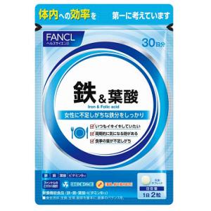 Fancl Железо и фолиевая кислота, 60 шт