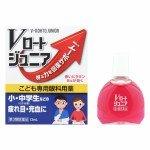 Rohto Junior Японские капли для глаз для школьников и студентов от усталости и сухости с витаминами и аминокислотами