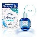 LION Smile Whiteye Японские капли от усталости и сухости глаз при покраснениях при ношении линз, 15 мл