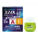 LION Smile 40EX Super Cool Освежающие японские капли с витаминами, 13 мл