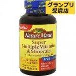 Nature Made Super Multiple Vitamin& Mineral Комплекс витаминов и минералов (120 таблеток на 120 дней)