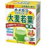 Аодзиру Зеленый сок из побегов молодого ячменя + ОМЕГА 3  (порошок 4 г х 36 пакетика)
