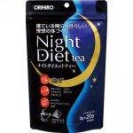 ORIHIRO Чай Night Diet Ночная диета для похудения, 20 пакетиков