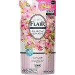 Kao Flair Fragrance (Gentle & Bouquet) Кондиционер для белья с антибактериальным эффектом, с ароматом нежного букета 480 мл