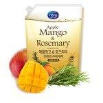 Mukunghwa Жидкость для мытья посуды, детских бутылочек и фруктов, , аромат яблока манго и розмарина, 1,2 л