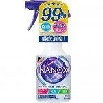 """Lion """"Super NANOX"""" Спрей с антибактериальным и дезодорирующим эффектом для одежды и текстиля, 350 мл"""