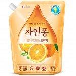 LG Natural Pong Orange Жидкость для мытья посуды Цитрус 1,18 л
