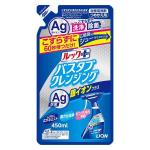 Lion Look Plus Чистящее средство для ванной комнаты быстрого действия с ионами серебра, аромат трав и мяты, 450 мл