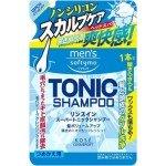 """KOSE Cosmeport """"Men's Softymo"""" Мужской тонизирующий шампунь для волос, с цитрусовым ароматом, 400 мл."""