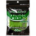 Dent-Inn Xylitol Mint Флосс для чистки межзубного пространства, 50 шт
