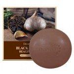 Deoproce Black Garlic Reaging Soap Мыло с экстрактом черного чеснока  100 гр