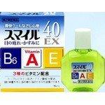 Lion Smile 40 EX СOOL Японские Витаминизированные капли для глаз