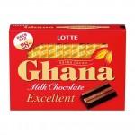 Lotte Шоколад молочный Ghana excellent, 119 г