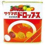 sakuma карамель в банке, фруктовое ассорти, 115 г