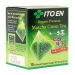Ito En Premium Matcha Green Tea Зеленый Чай, 10 пакетиков