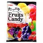 Ribon Fruits Candy Карамель ассорти из 5 вусов, 120 гр