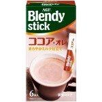 AGF BLENDY STICK Молочное растворимое какао, 66г (6х11г)