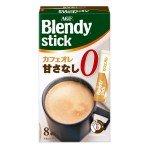 AGF Blendy Stick Кофе растворимый без сахара, 71,2г (8х8,9г)